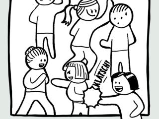 Das Warm-Up für große Gruppen