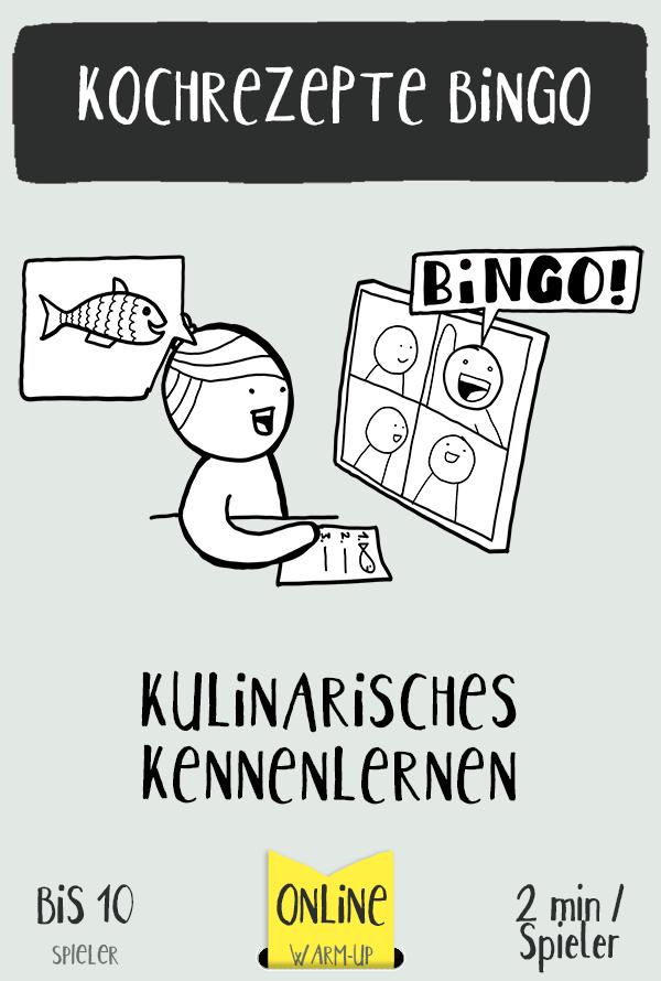 Das Bingo-Kennenlernspiel für Online-Workshops